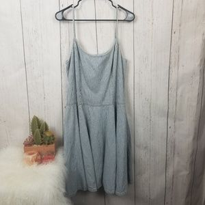 Jean dress Lauren Jean Company size 16